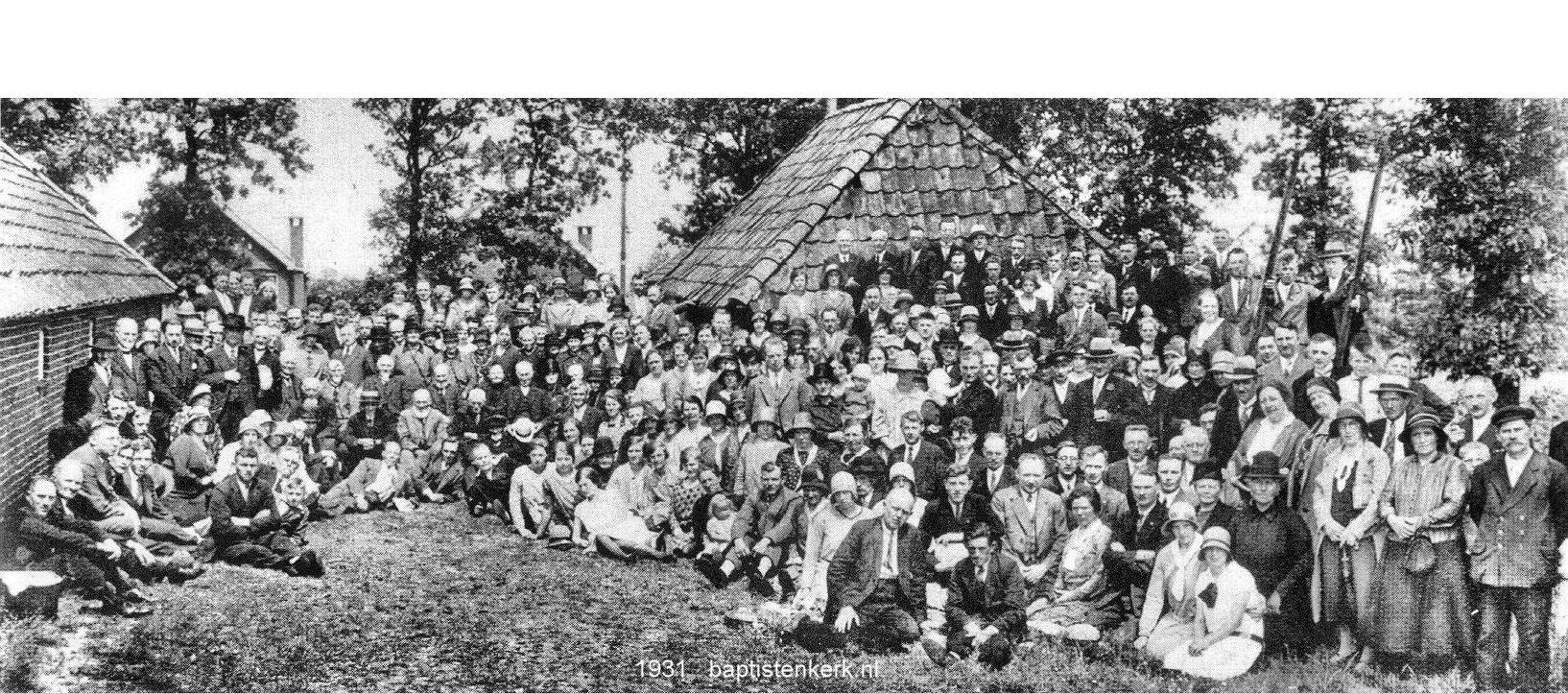 De Geschiedenis van de Baptisten in Nederland