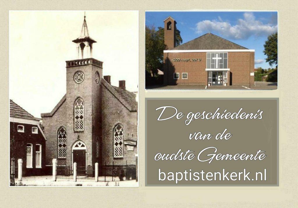 Promokaartje baptisten gemeente Stadskanaal noord